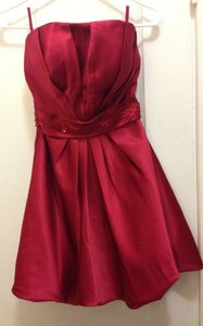 Bill Levkoff Euro Red Style #582 Dress