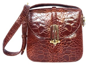 Other Cognac Deco Brown Shoulder Bag