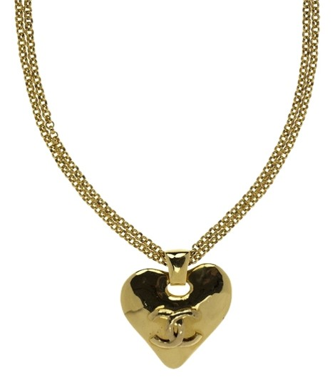 Chanel Chanel Vintage Heart necklace