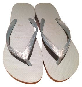 Havaianas Light Blue Wedges