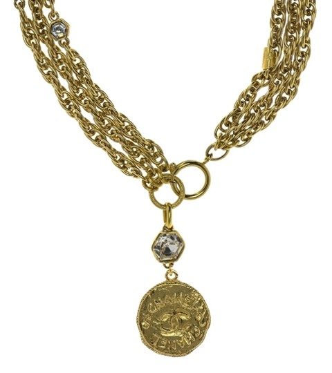 Preload https://item3.tradesy.com/images/chanel-gold-double-strand-crystal-coin-pendant-necklace-3692512-0-0.jpg?width=440&height=440