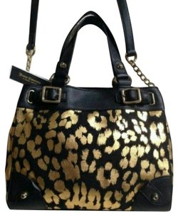 Juicy Couture Gold Leopard Cross Body Bag