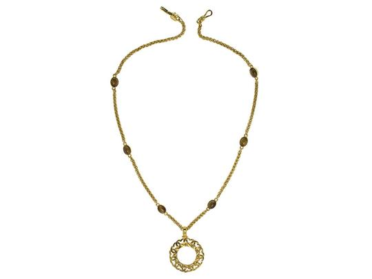 Chanel Chanel Vintage Gripoix Spyglass Necklace
