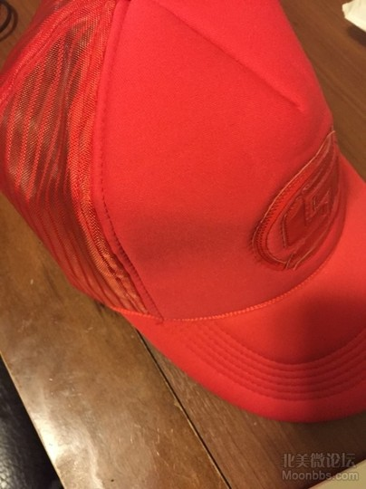 red hat cool kid street red cap