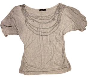 Express Necklace Top Grey