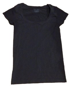White House | Black Market Basic Tee Stretch Layering T Shirt Black