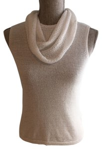 Josephine Chaus Cowl-neck Tops Summer Tops Tops Sleeveless Tops Top White