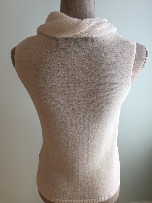 Josephine Chaus Cowl-neck Tops Summer Tops Tops Sleeveless Tops Top White Image 3
