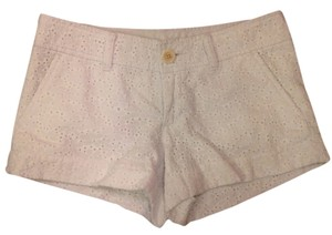 Lilly Pulitzer Shorts Resort White Eyelet