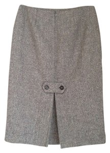 Barneys New York Skirt Gray