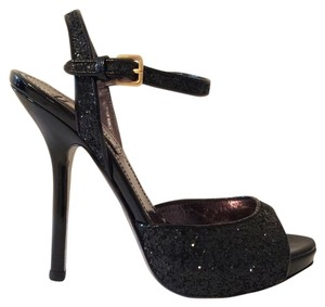 Miu Miu Black glitter Pumps