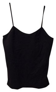 White House | Black Market Basic Layering Stretch Sexy Top Black