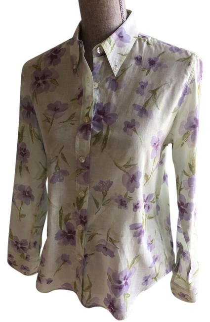 Preload https://img-static.tradesy.com/item/3693529/the-limited-green-purple-and-floral-small-button-down-top-size-6-s-0-0-650-650.jpg