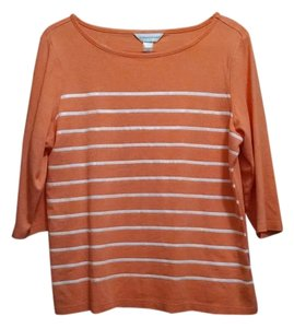 Christopher & Banks Top Coral