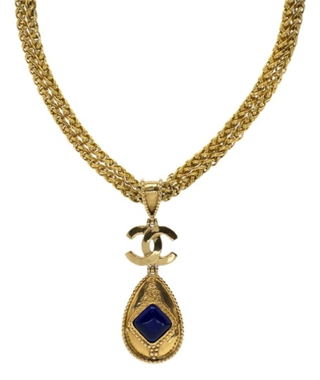 Chanel Chanel Vintage CC Pendant Necklace