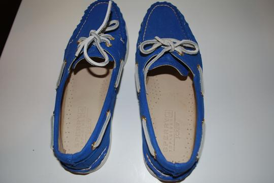 Sperry Flat Cute Fourthofjuly Preppy Blue Sandals