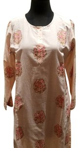 Graham Kandiah Graham Kandiah Printed Rose Medallion Cotton Dress/Cover Up
