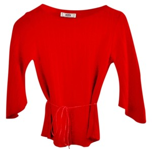 OBEY Stretchy Sleeves Top red