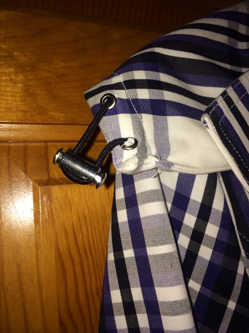 Laundry by Shelli Segal Striped Trench Coat