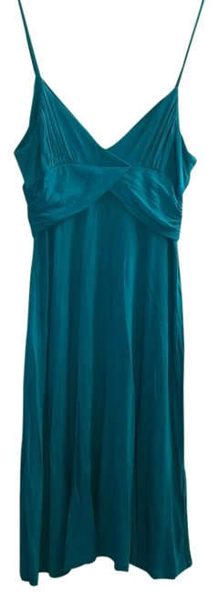 Forever 21 short dress Teal Night Out Blue Empire Waist Xxi on Tradesy
