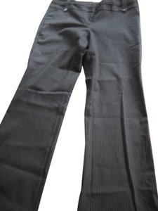 The Limited Pinstripe Straight Pants black