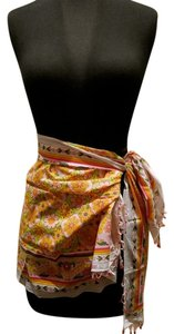 Graham Kandiah Graham Kandiah Short Beaded Key West Sarong Skirt