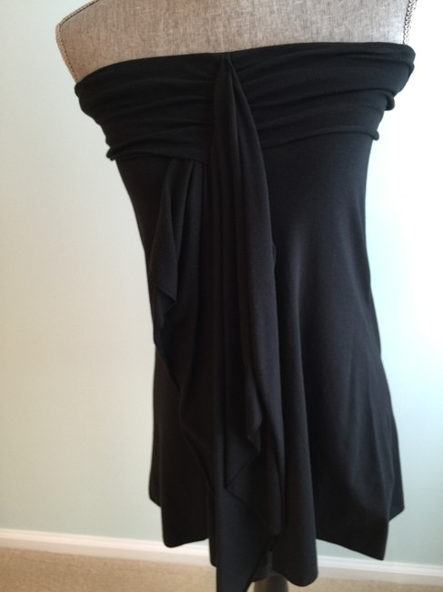 The Limited Tops Tees Strapless Tees Strapless Tops Strapless Tanks T Shirt Black