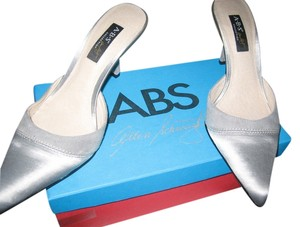A.B.S. by Allen Schwartz Satin Suede gray Formal