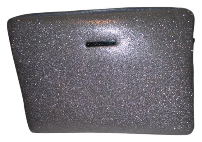 Item - Sleeve Pewter/ Dark Silver Glitter Laptop Bag