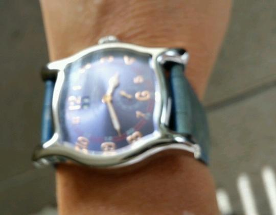 Ritmo Mundo Ritmo Mundo Ritmo Scala Blue Leather Strap Blue face unisex Watch