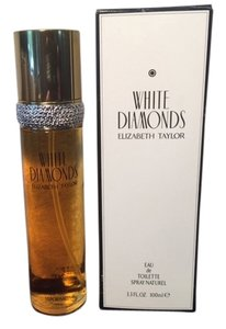 Elizabeth Taylor Elizabeth Taylor White Diamonds Eau De Toilette Perfume Spray 3.3 oz New in Tester Box
