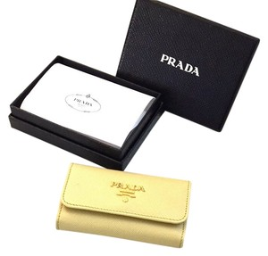 Prada Prada Saffiano Leather Key Holder