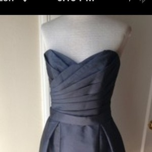 Alfred Sung Ebony Modern Bridesmaid/Mob Dress Size 2 (XS)