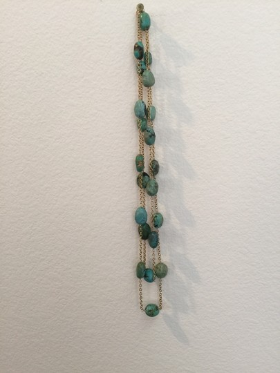 Other Turquoise & Gold Necklace
