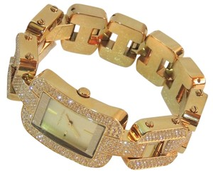 Michael Kors Michael Kors Brit Crystal Gold-Tone Ladies Watch