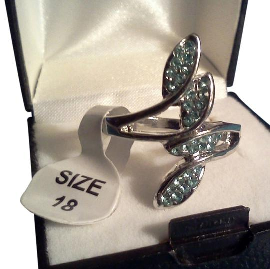 Other Silver plated party ring with stones
