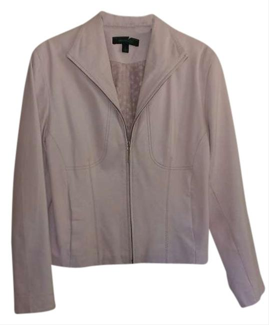 Siena Studio Pink Leather Jacket