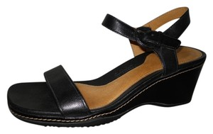 Rockport Leather black Sandals