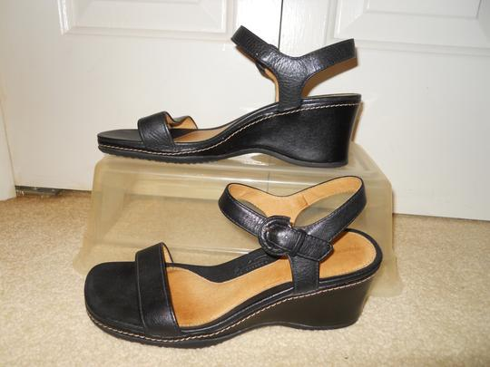 Rockport Leather black Sandals Image 2