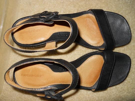 Rockport Leather black Sandals Image 4