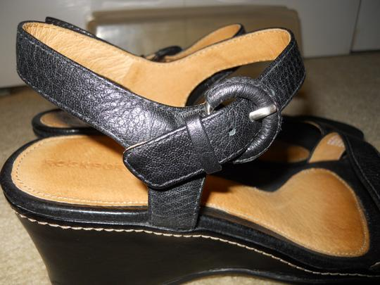 Rockport Leather black Sandals Image 9