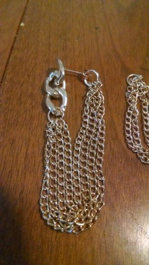 Other Multi way Chain earrings