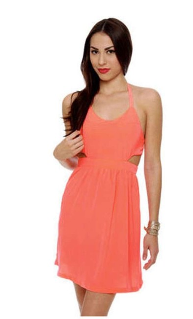 Preload https://item1.tradesy.com/images/bb-dakota-neon-orange-bc28983-above-knee-short-casual-dress-size-4-s-369805-0-0.jpg?width=400&height=650