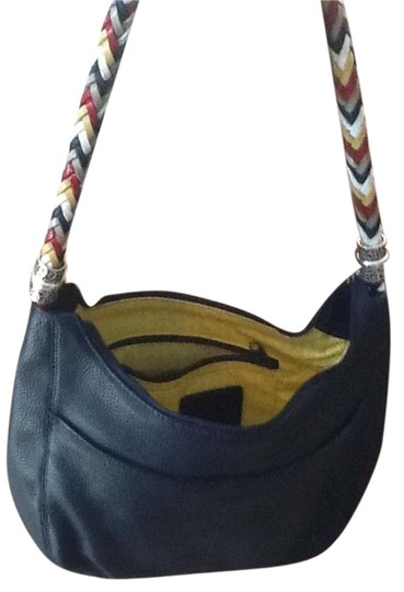 Preload https://item5.tradesy.com/images/brighton-barbados-new-never-worn-shoulder-bag-navy-blue-twisted-should-leather-assorted-colors-3698179-0-2.jpg?width=440&height=440
