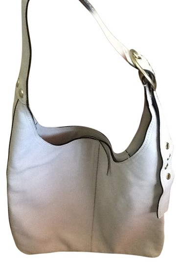 Coach Flat Interior Lovely Plaid Logo Stamped On Front Style 1299 Leather Key Chain Attached Zip Top Zippered Pocket Inside Shoulder Bag