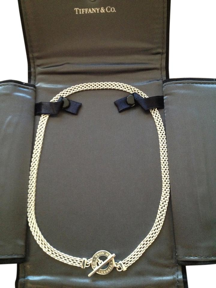 fbe1e4756 Tiffany & Co. Tiffany Somerset toggle necklace; sterling silver Image 0 ...