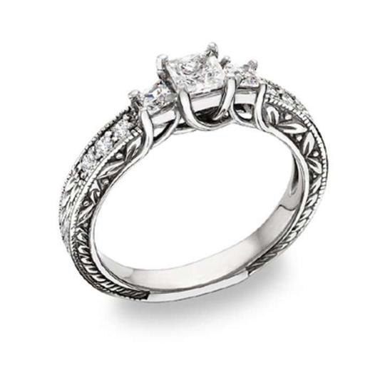 Preload https://item1.tradesy.com/images/apples-of-gold-white-floret-design-three-stone-princess-cut-cz-engagement-ring-369995-0-0.jpg?width=440&height=440