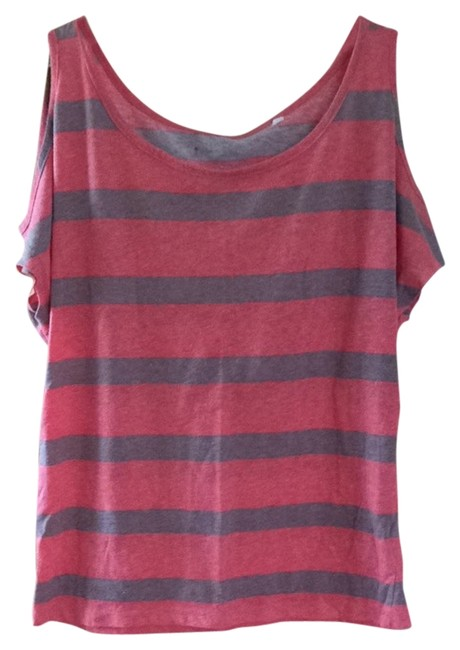 Preload https://item3.tradesy.com/images/lilu-pink-and-taupe-stripes-tank-topcami-size-0-xs-3699952-0-0.jpg?width=400&height=650