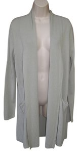 Calvin Klein Pockets Knit Long Shawl Collar Cardigan