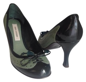 Marc Jacobs Timeless Classic Comfy Hunter green Pumps